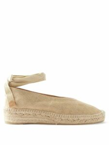 By Walid - Oscar Patchwork Cotton Poplin Shirtdress - Womens - Blue Multi