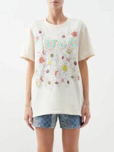 M Missoni - Vintage Scarf Silk Blend Lamé Maxi Dress - Womens - Yellow Multi