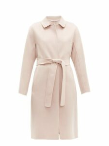 S Max Mara - Doraci Coat - Womens - Light Pink