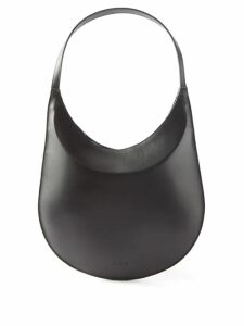Christopher Kane - Crystal Embellished Plissé Crepe Skirt - Womens - Black