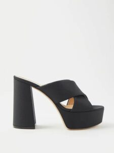 Paco Rabanne - Lace And Rose Print Chainmail Mini Dress - Womens - Black Multi