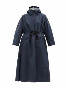 A.p.c. - Oleson Striped Cotton Crepe Dress - Womens - Ivory Multi