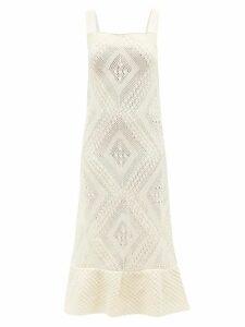 A.p.c. - Clea Cotton Dress - Womens - Indigo