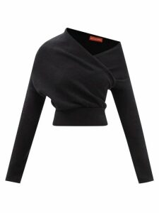 Weekend Max Mara - Ariano Midi Skirt - Womens - Black White