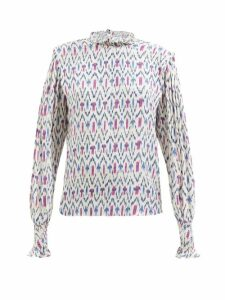 Max Mara - Uva Trench Coat - Womens - Dark Brown