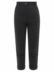 Altuzarra - Duel Patchwork Print Silk Dress - Womens - Blue Multi