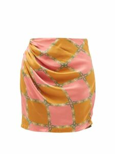 S Max Mara - Murcia Dress - Womens - Green Multi