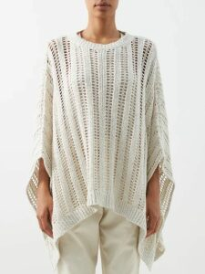 Diane Von Furstenberg - Issey Lemon Print Lace Trim Silk Dress - Womens - Black Multi