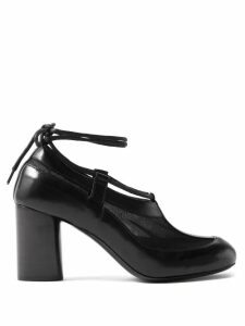 No. 21 - Ruffle Trimmed Crepe Blouse - Womens - Red