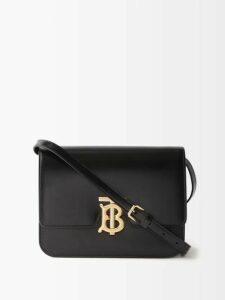 No. 21 - Ruched Crepe Midi Dress - Womens - Black