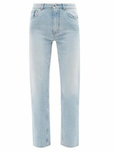 Andrew Gn - Peak Lapel Floral Brocade Blazer - Womens - Black Multi