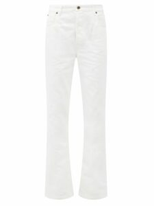 Ganni - Checked Cotton Blend Dress - Womens - Pink