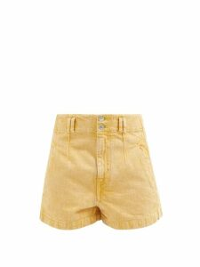 Paco Rabanne - Gathered Chainmail Dress - Womens - Gold