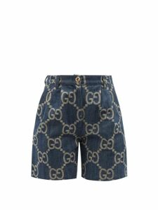 The Attico - Faux Pearl Trimmed Ostrich Feather Top - Womens - Fuchsia