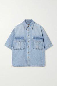 Bottega Veneta - Cassette Intrecciato Leather Shoulder Bag - Red