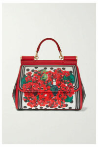Dolce & Gabbana - Portofino Dauphine Printed Textured-leather Tote - One size
