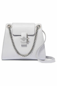 Chloé - Annie Mini Leather Shoulder Bag - Light blue