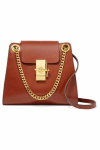 Chloé - Annie Mini Leather Shoulder Bag - Brick