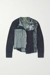 Jimmy Choo - Tatiania Crystal-embellished Satin Clutch - Blue