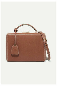 Mark Cross - Grace Small Textured-leather Shoulder Bag - Brown