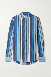 Givenchy - Mystic Medium Leather Tote - Blue