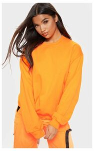 Orange Neon Ultimate Oversized Sweater, Neon Orange