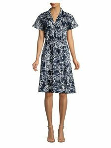 Paisley Floral Shirtdress