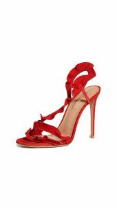 Aquazzura Ruffle 105mm Sandals