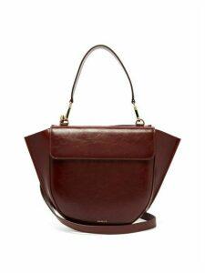 Wandler - Hortensia Medium Leather Shoulder Bag - Womens - Burgundy