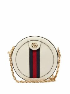 Gucci - Ophidia Leather Cross Body Bag - Womens - White