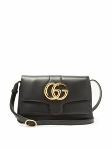 Gucci - Arli Gg Leather Cross Body Bag - Womens - Black