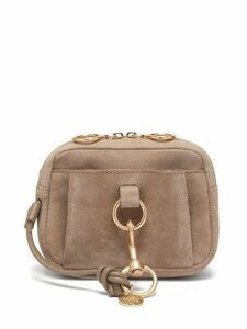 See By Chloé - Tony Suede Belt Bag - Womens - Grey