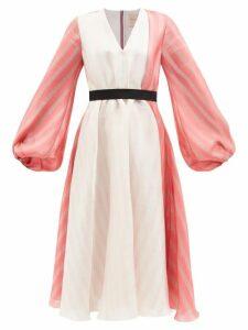 Heidi Klein - Savannah Medium Bamboo Handle Raffia Tote Bag - Womens - Beige