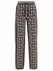 Gucci - Gg Marmont Circular Leather Cross Body Bag - Womens - Black Beige