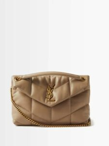 Sparrows Weave - The Clutch Wicker And Leather Cross Body Bag - Womens - Burgundy