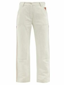 Chloé - The C Mini Crocodile Effect Leather Cross Body Bag - Womens - Red