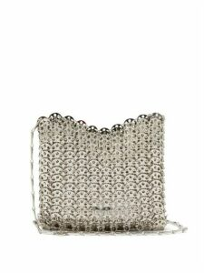 Paco Rabanne - Iconic 1969 Chain Shoulder Bag - Womens - Silver