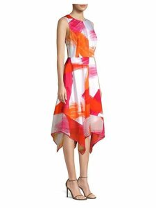 Crewneck Trapeze Dress