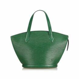 Louis Vuitton Green Epi Saint Jacques Short Strap Pm