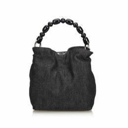 Dior Blue Denim Malice Handbag