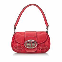 Dior Red Leather Handbag