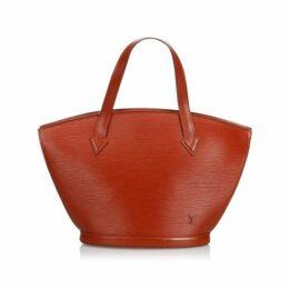 Louis Vuitton Brown Epi Saint Jacques Short Strap Pm