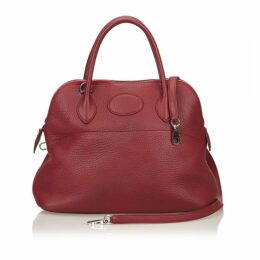 Hermes Red Taurillon Bolide 31