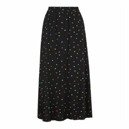 Gestuz Dorothie Polka-dot Midi Skirt