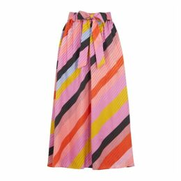 Stine Goya Stripe Jacquard Skirt