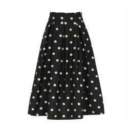 Stine Goya Piper Embroidered Midi Skirt