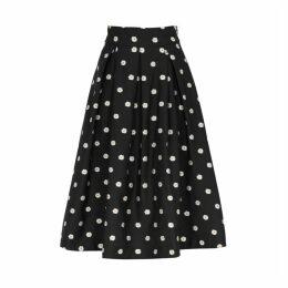 Stine Goya Piper Embroidered Midi Skirt
