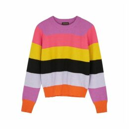 Stine Goya Magdalena Striped Knitted Jumper