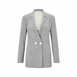 Jigsaw Check Irish Linen Blazer