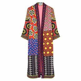 Alice + Olivia X Carla Kranendonk Lynn Printed Kimono